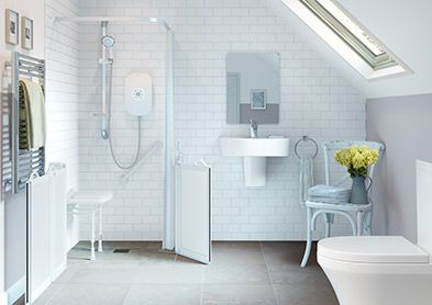 wet room design for moility Products aids for the home bath