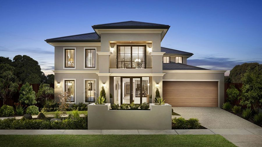 Story house  two floor house design in Australia