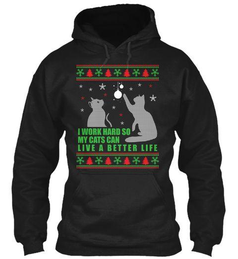 Cat Christmas Hoodies 2017 Cat T Shirts Pinterest Cat And