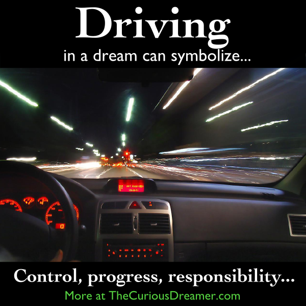 In A Dream Driving A Car Or Other Vehicle Can Represent More At