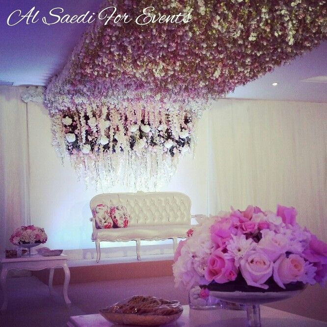 Home wedding decor