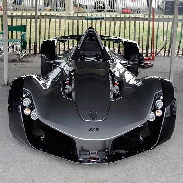 Bac Mono Is A Single Seat Road Legal Sports Car 0 60 In 2 3 Sec With Top Sd Of 170 Mph Launched 2017