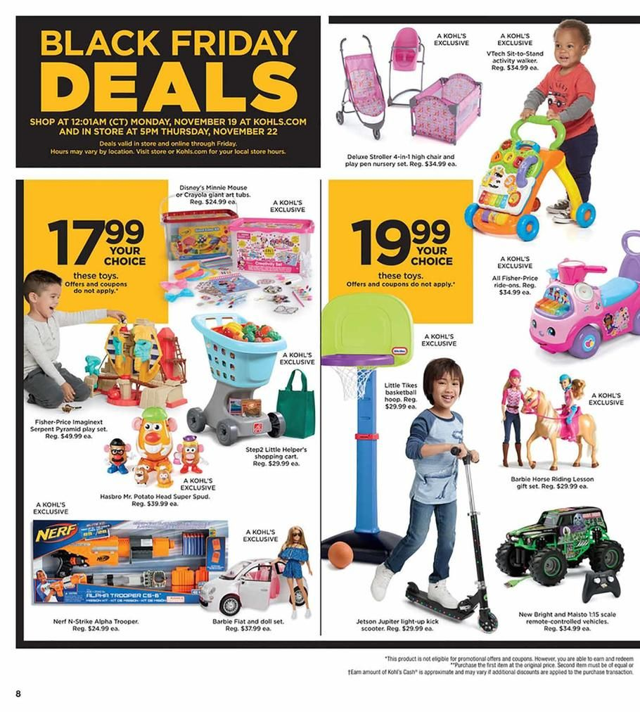 Kohl S Black Friday 2018 Ads Scan Deals And Sales See The Kohl S Black Friday Ad 2018 At 101blackfriday Com Find The Best 2018 Kohl S Black Friday Deals And S