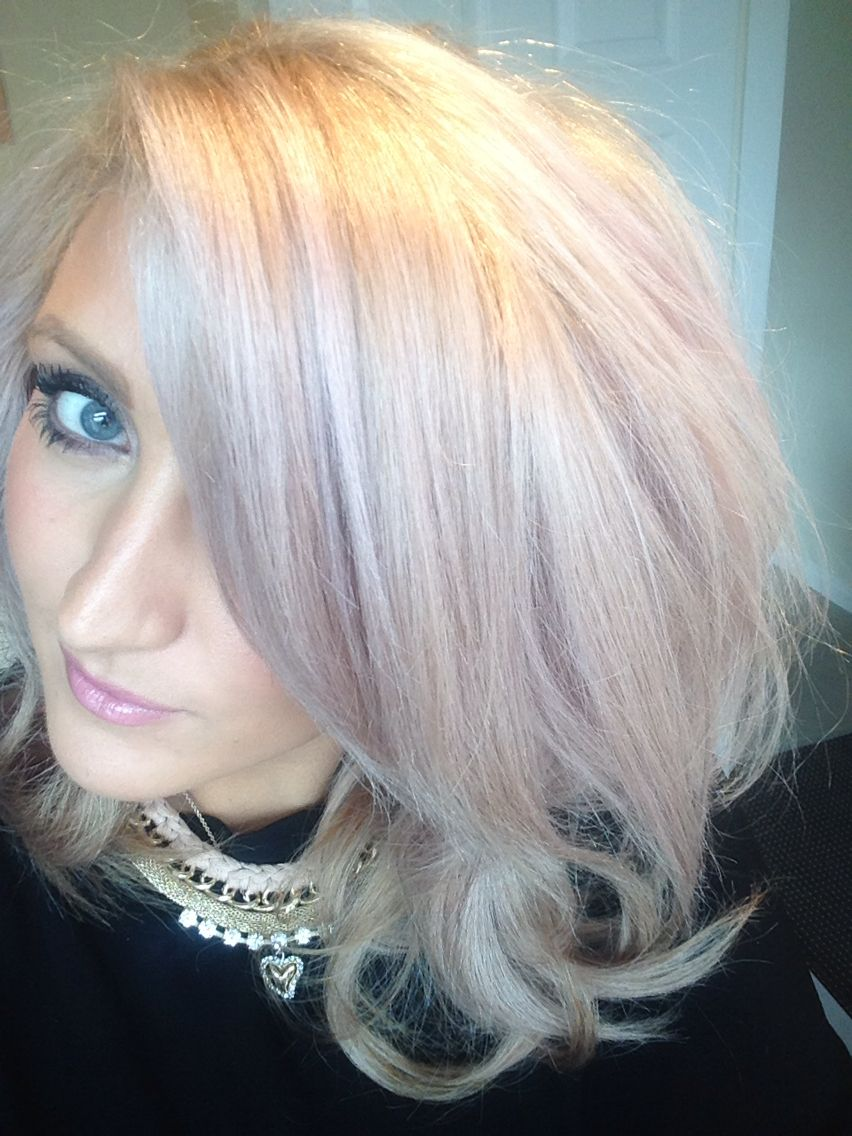 Pink toners are the way forward if you want to change up
