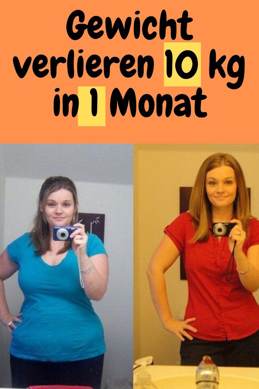 Rezept, um in 1 Monat Gewicht zu verlieren