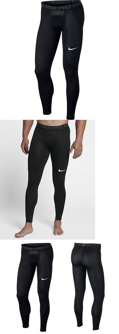 0aa619ed3ce55 Compression and Base Layers 179825: Nike Pro Compression Tights Pants Full  Length Black Men S Size Large 838067 010 -> BUY IT NOW ONLY: $29.99 on  #eBay ...