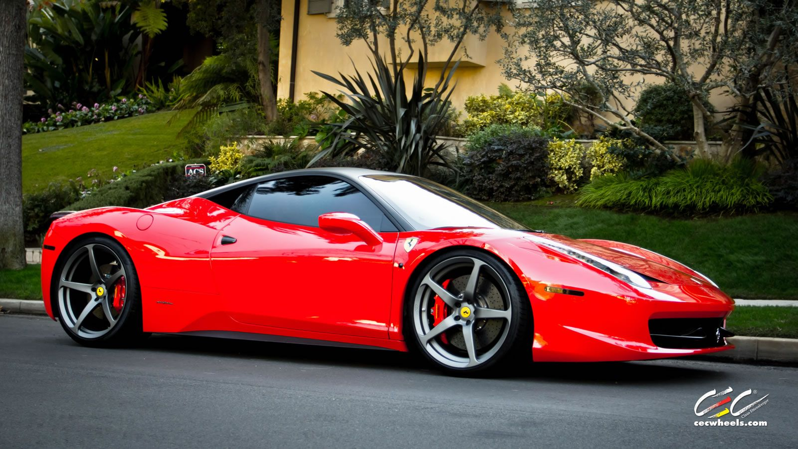 ferrari 458 italia |  gallery : cec c884 forged wheels » cec