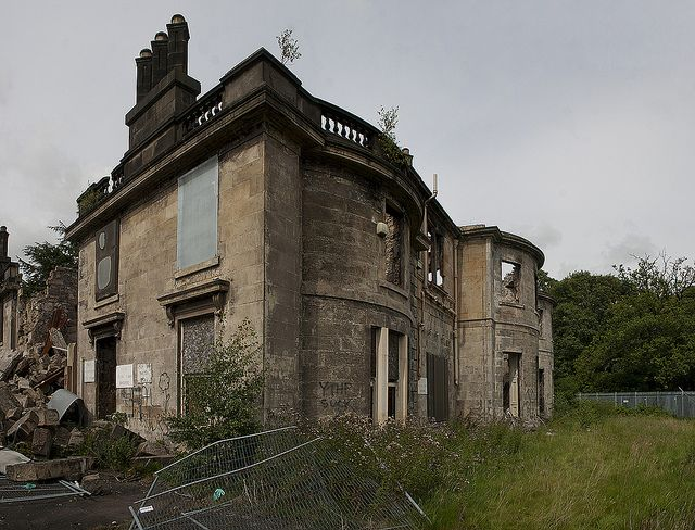 Larbert House   Forgotten Places   Abandoned mansions