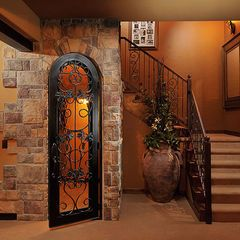Basements And Beyond Google Search Basement Design Wine Cellar Door Traditional Family Rooms