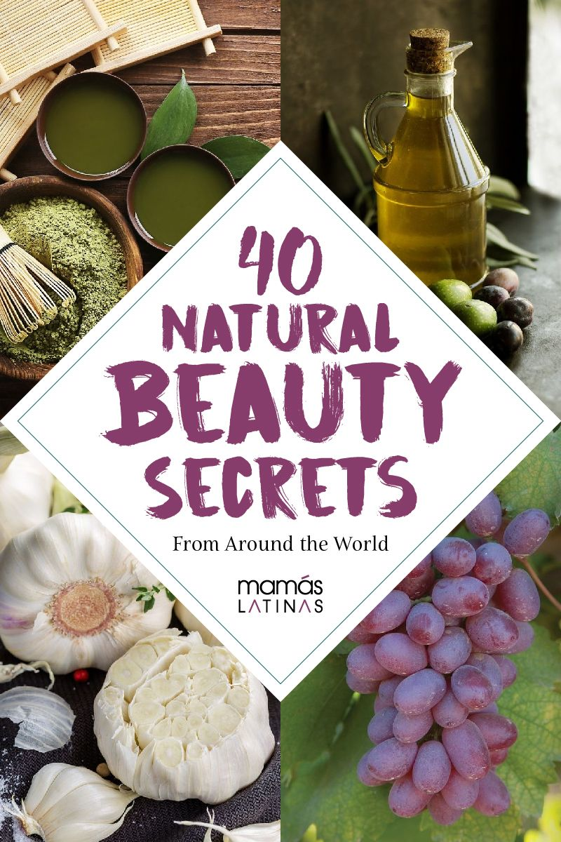 40 Natural beauty secrets from all over the world #beautysecrets