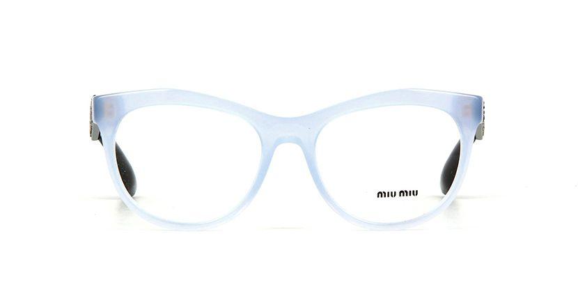 adc79d05cabe Miu Miu MU 08NV TKV1O1 Opal Azure Glasses