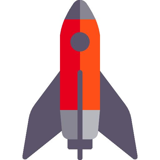 Material Design Rocket Icon Material Design Icon Design