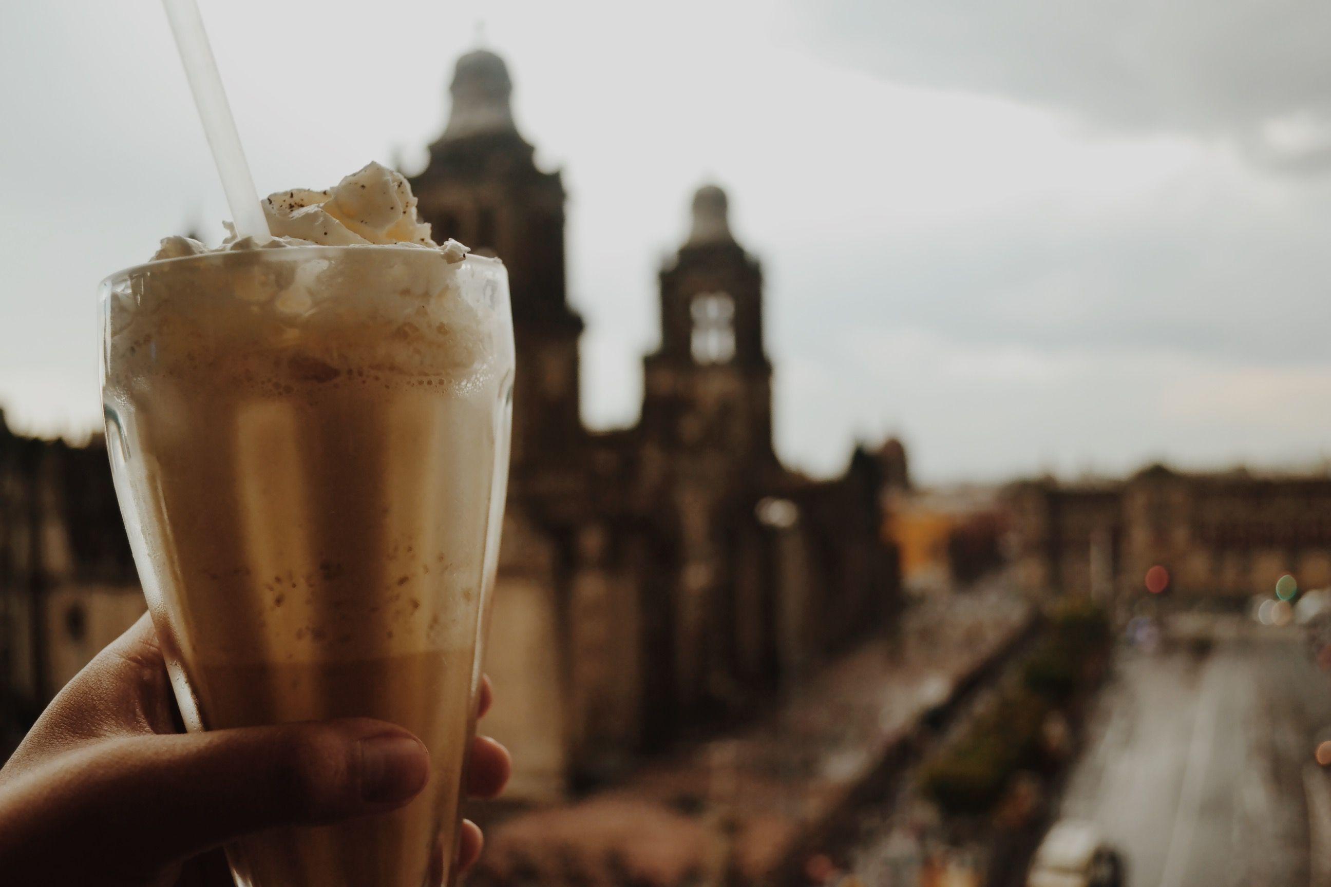 Frapuccino @MexicoCity #downtown