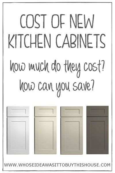 Curious About How Much New Kitchen Cabinets Cost? Find Out Exactly How Much  We Paid