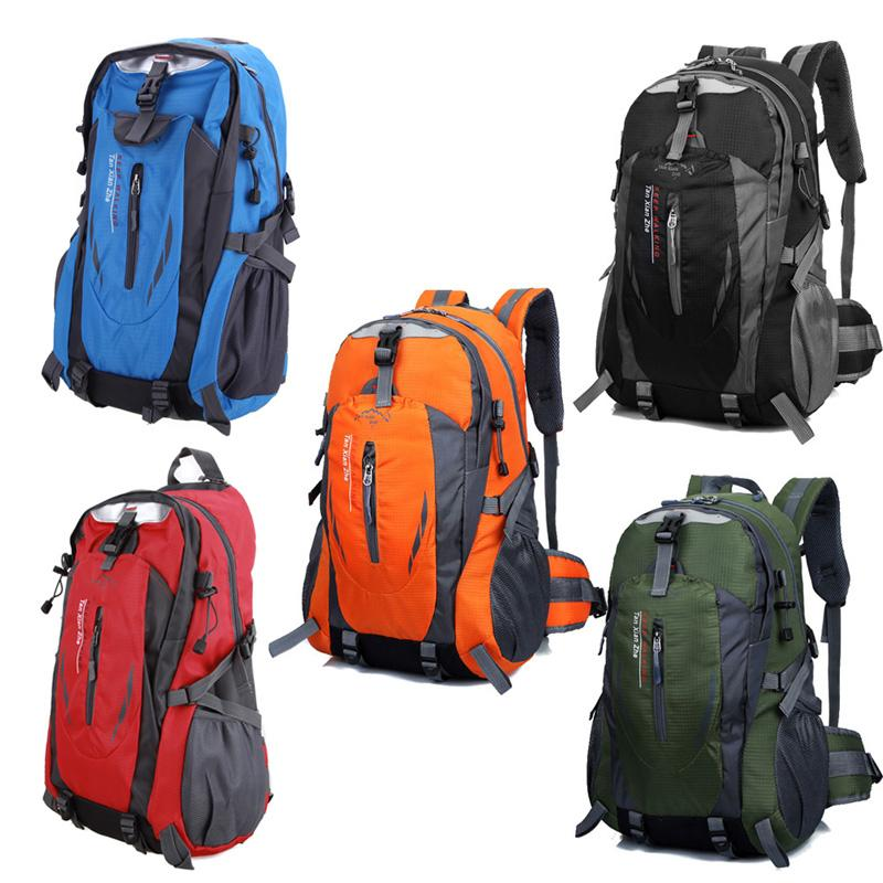 066da9087334 Waterproof Outdoor Climbing Backpack Men Women Camping Hiking Athletic  Travel Backpack Unisex Climbing Sport Bags