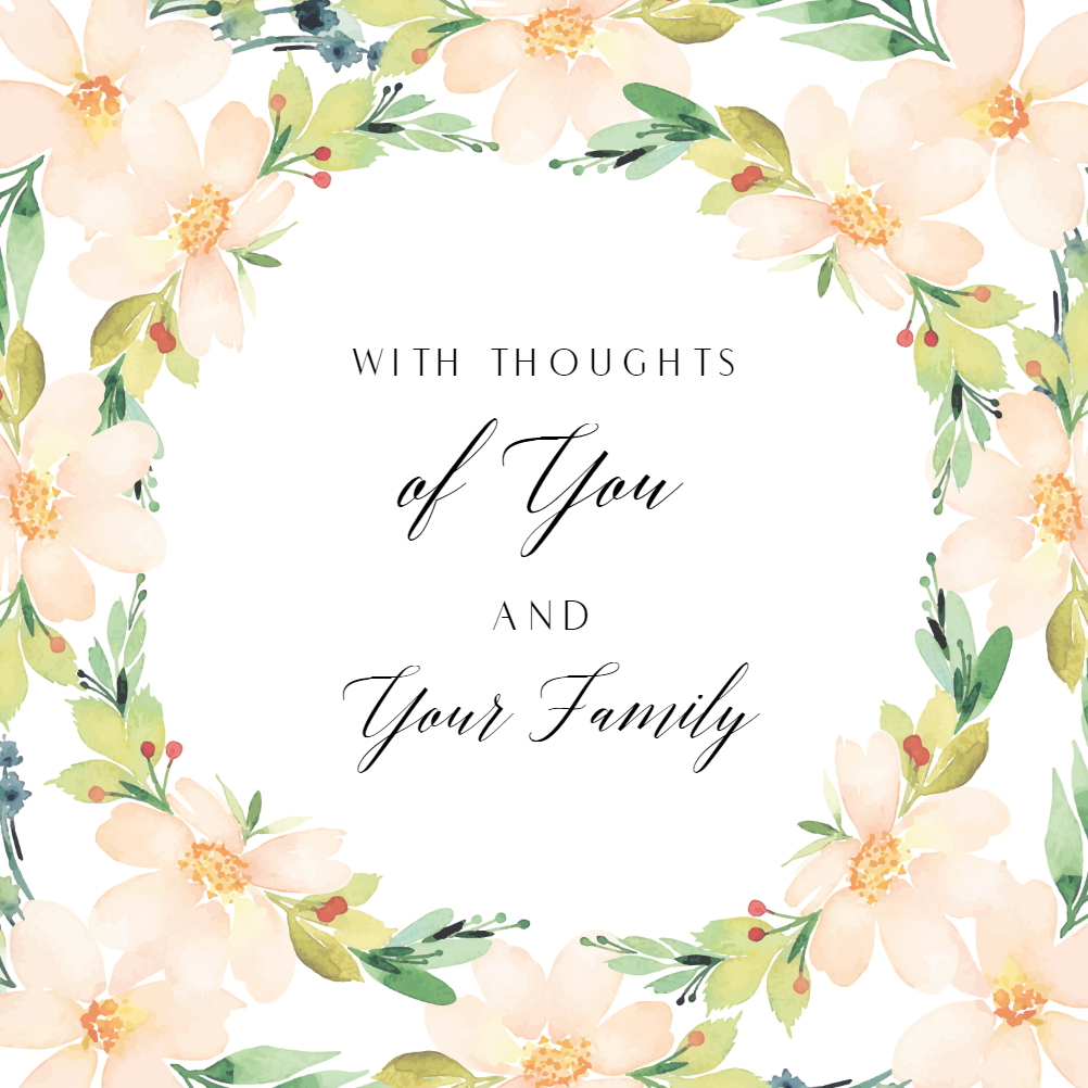 Death Anniversary Cards Templates - Professional Sample Template