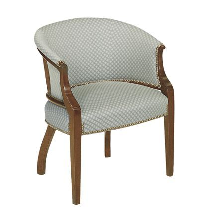 Tub Chair from the James River collection by Hickory Chair Furniture