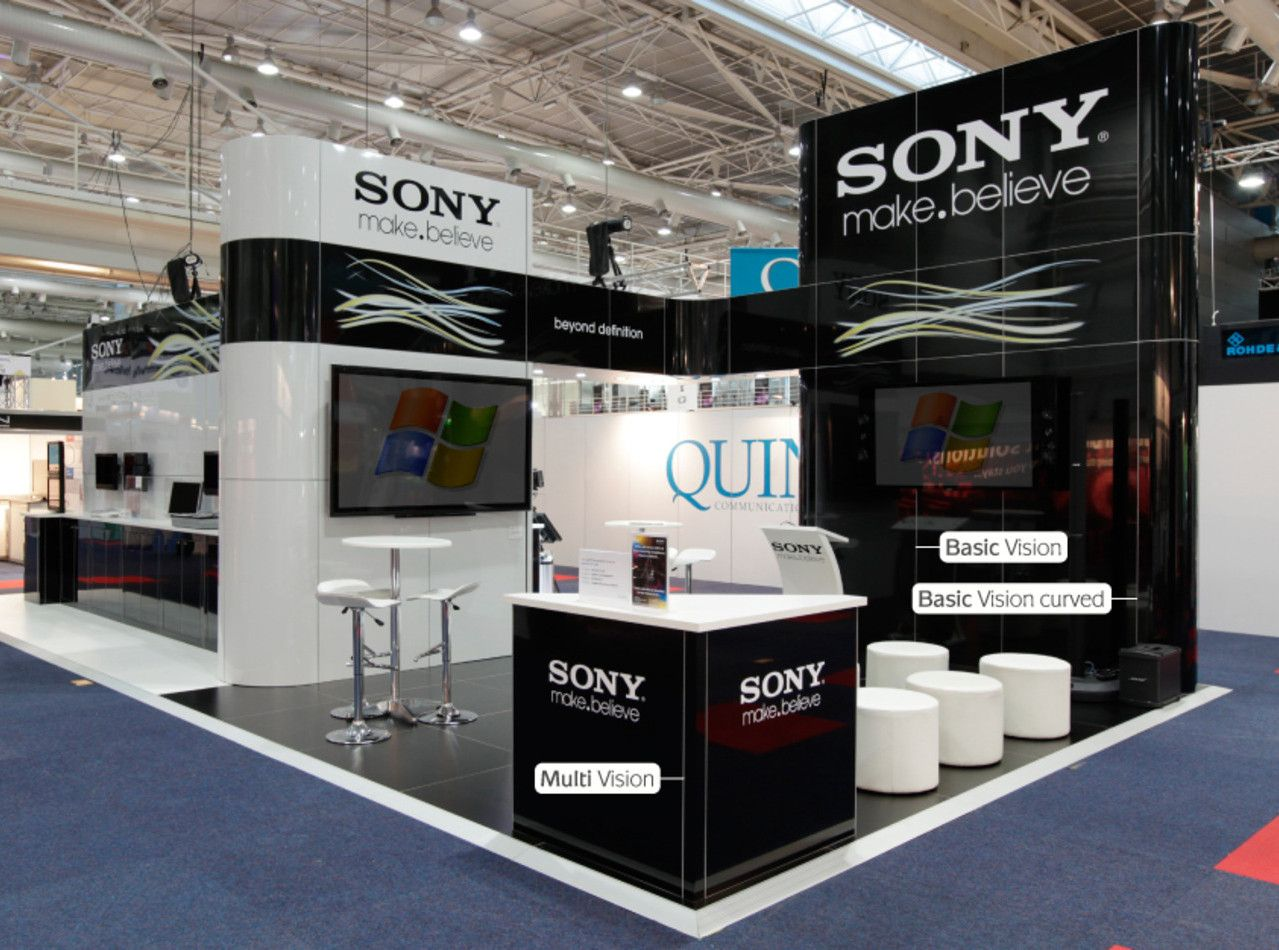 Basic Exhibition Booth : Basic a frame r≤ aluvision exhibitions pinterest