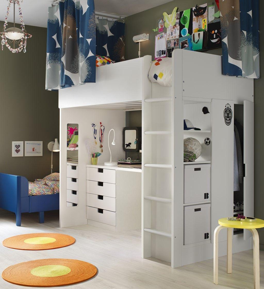 05 Ninos Ikea Sakinas Bedroom In 2018 Pinterest Ikea - Catalogo-ikea-dormitorios-juveniles