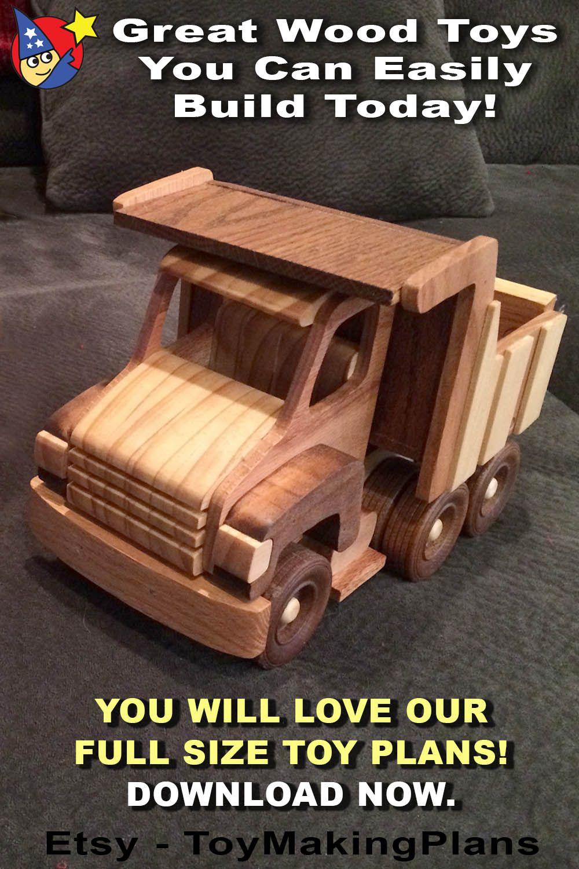 Hefty Dump Truck and LoBoy Trailer PDF Download Etsy in