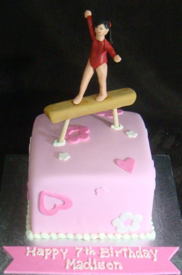 Cake Decorating Ideas Gymnastics : Gymnast Birthday Cake Ideas And Designs Cake Ideas ...