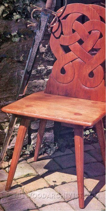 Peasant Chair Plans - Furniture Plans and Projects WoodArchivist