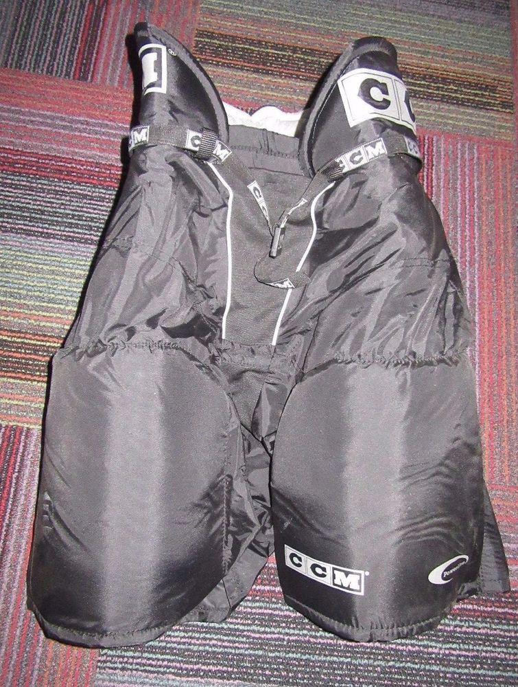 Ccm 152 tacks black senior hockey pants size: medium 32