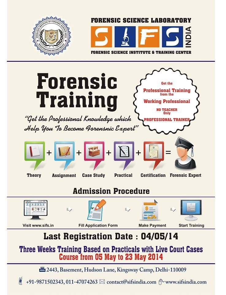 Courses In Forensic Education Certificate Diploma Pg