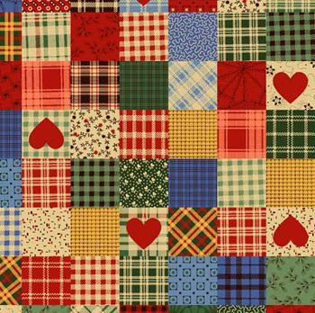 patchwork hearts tartan | Quilts Could Take Over the World ... : tartan patchwork quilt - Adamdwight.com