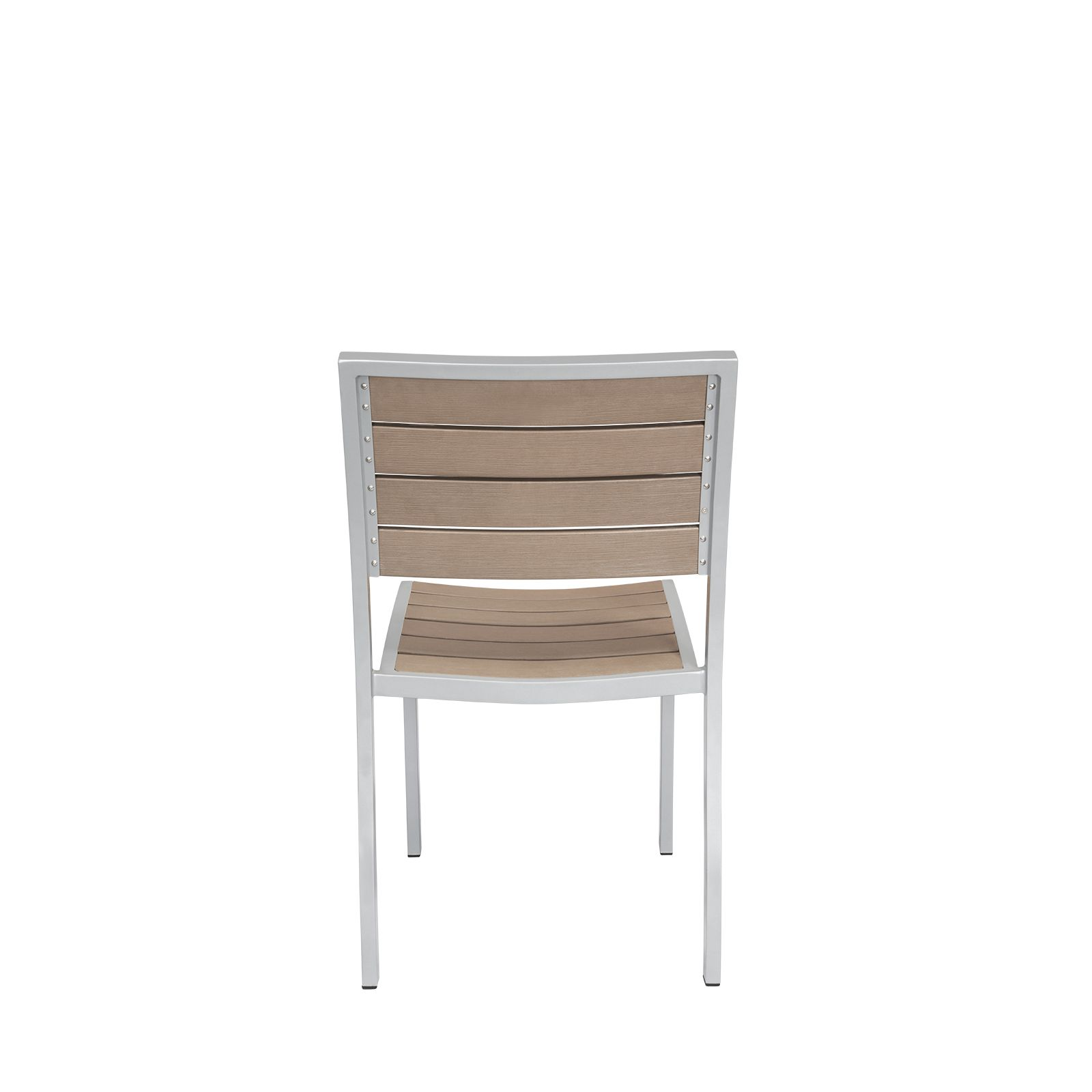 Napa Dining Side Chair Rustic Outdoor Patio Furniture