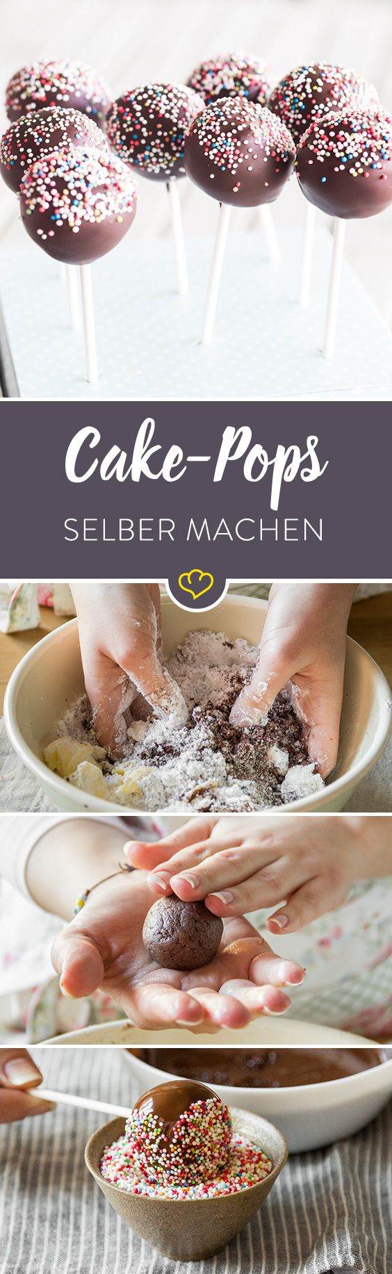 Photo of Make cake pops yourself – this is how you make them big