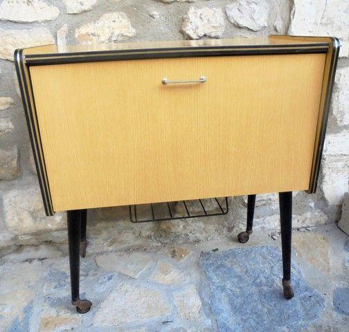 bar formica vintage Nos meubles présents et passés Pinterest