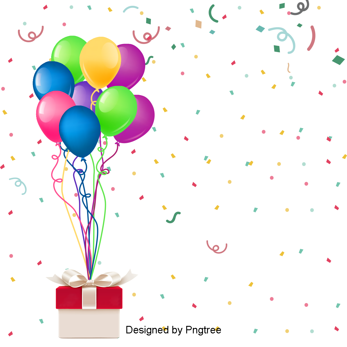 Fantasy Beautiful Color Colorful Happy Birthday Party Balloons Silk Color Clipart Birthday Clipart Colorful Png Transparent Image And Clipart For Free Down Birthday Party Balloon Cute Happy Birthday Happy Birthday Posters