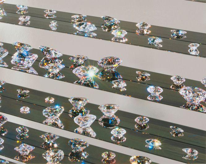 Silver Tears - Damien Hirst Utopia Exhibition at Paul Stolper Gallery