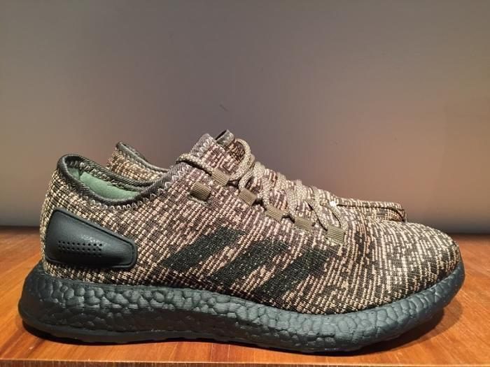 ADIDAS MENS PURE BOOST SHOES NIGHT