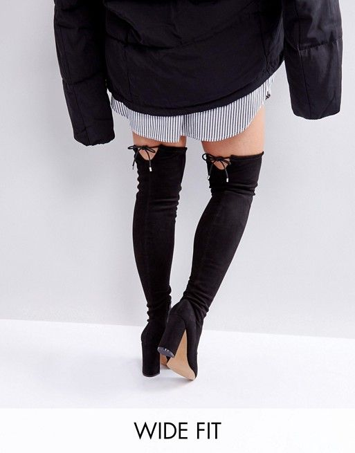 c218c0330423 ASOS Karma - these are pretty adorbs Knee High Boots, Over The Knee Boots,