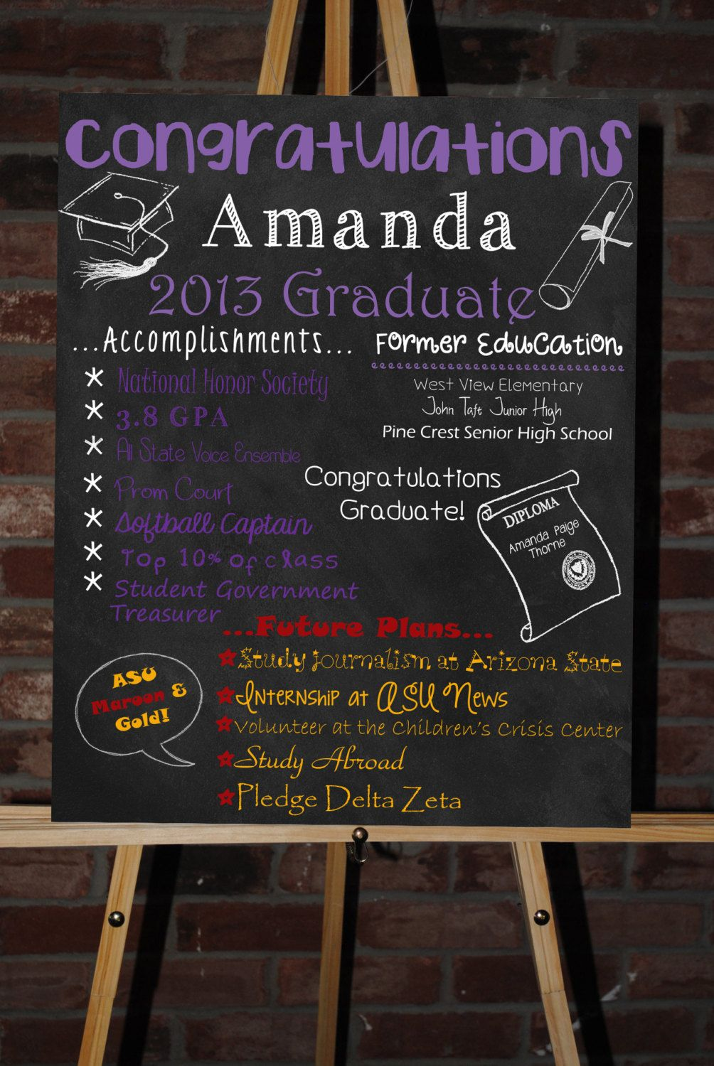 This item is unavailable | Etsy | Graduation boards ...