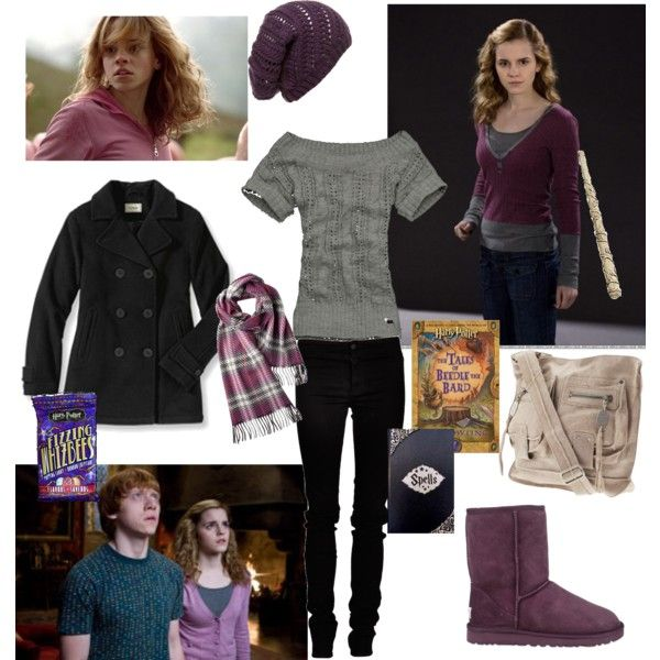 Hermione Granger, Created By Blair-granger On Polyvore
