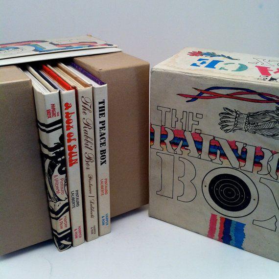 The Rainbow Box by Joseph Pintauro and Norman by vintagebaron
