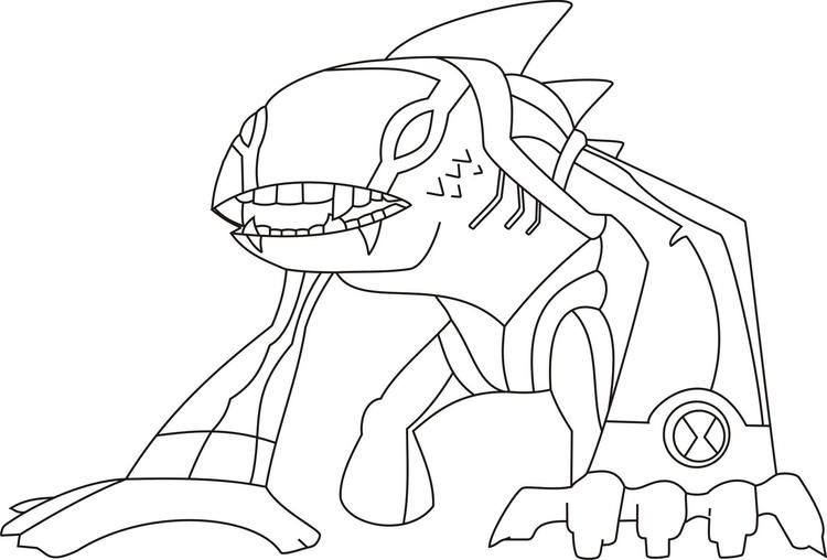 Ben 10 Coloring Pages Articguana Coloring Pages For Kids Cartoon Coloring Pages Coloring Pages
