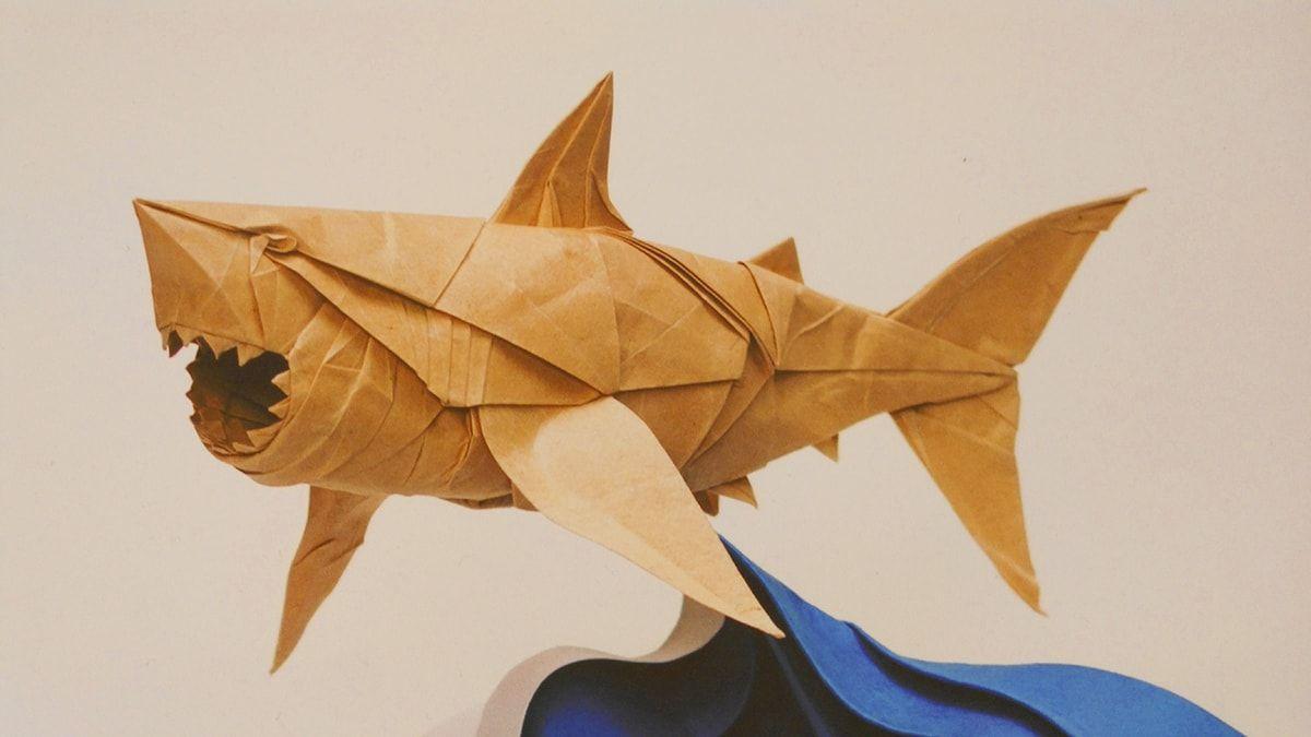 Great White Shark Folded By Pham Hoang Tuan