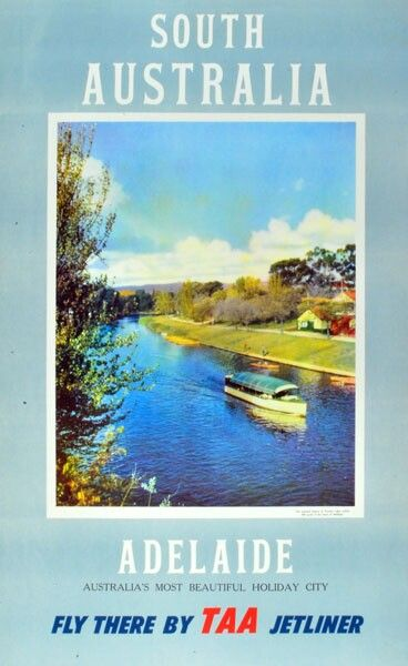 Taa Adelaide Poster Travel Posters Travel Postcard Posters Australia