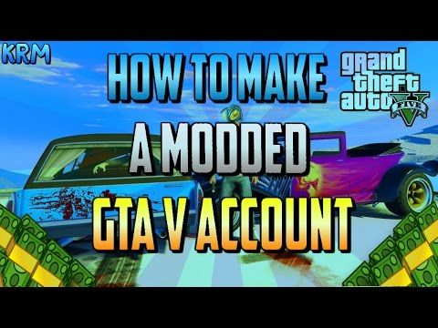 GTA 5 Online: MODDED ACCOUNT GIVEAWAY! #14 (GTA 5 Modded