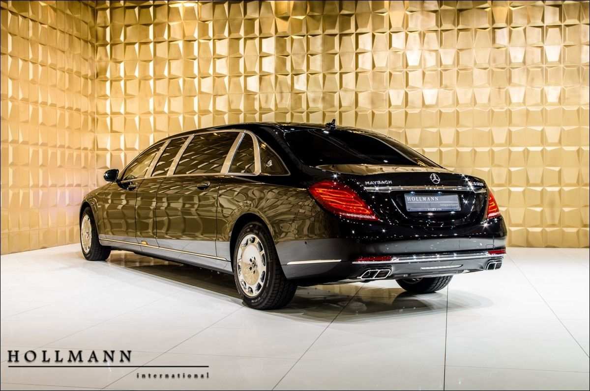 Mercedes Maybach S 600l Pullman Guard Vr9 Armoured Luxury Pulse
