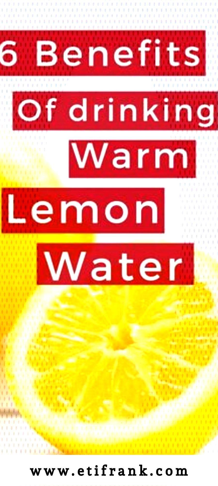 BENEFITS OF DRINKING WARM LEMON WATER    Nowadays, lemon water seems to be the latest rage. Man