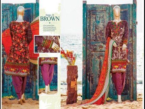 70adbe9fc6 Diamond Classic Lawn Collection Vol 1 By HZ Textiles | Fashion Block ...