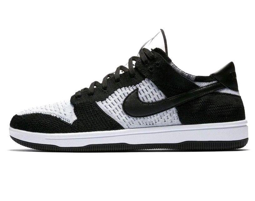 timeless design d4177 903cd NIKE Dunk Flyknit Size 10 US Black White Mens Shoes  Nike