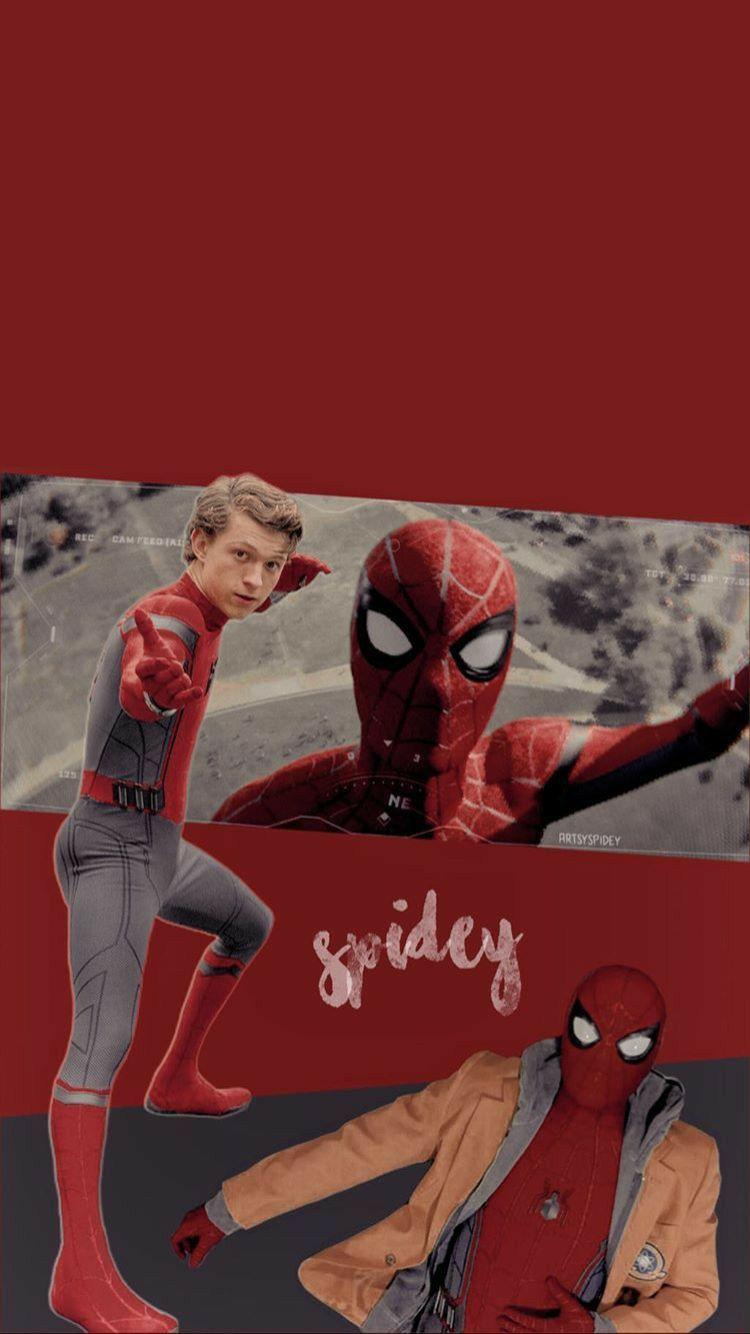 L Am Here Peter Parker Duzenleniyor In 2020 Marvel Wallpaper Tom Holland Spiderman Marvel Background