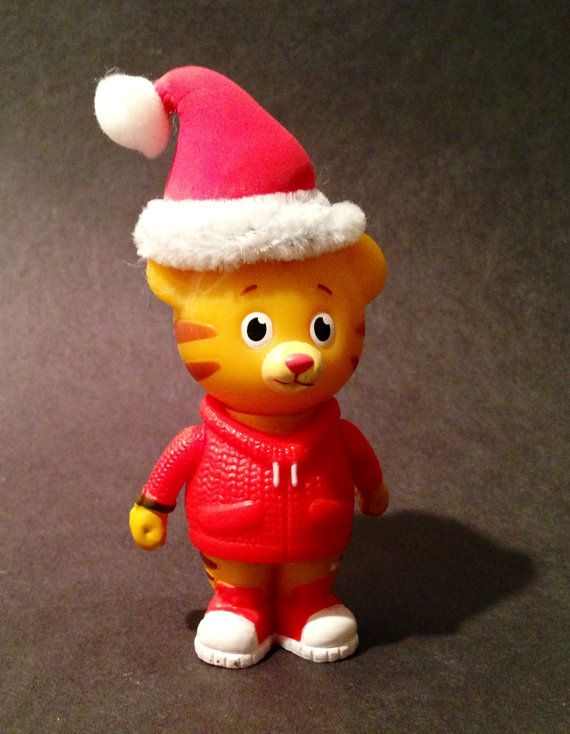 Daniel Tiger Ornament with Santa Hat | Birthday | Pinterest | Daniel ...