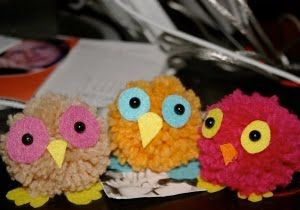 """""""Lines Across"""": Adorable Owl Crafts to go with back-to-school library decor"""